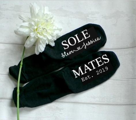 personalised socks for Valentines day