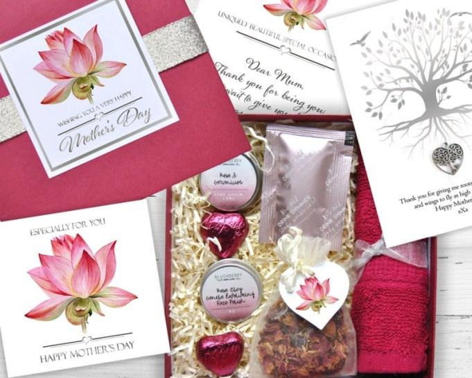 inspiration original gifts, mother's day pamper set