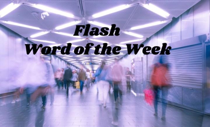 Flash, word of the week