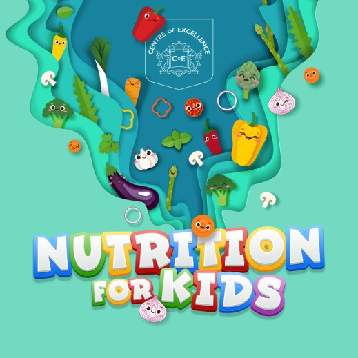 courses for kids, nutrition for kids, centre of excellence