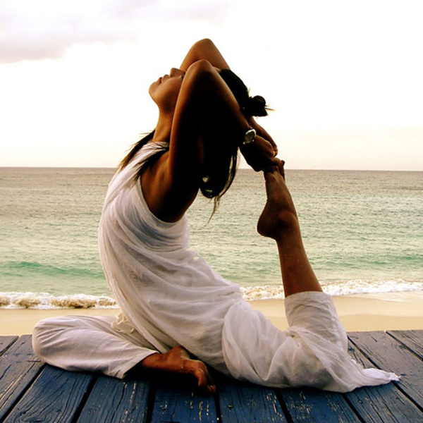 yoga from the centre of excellence