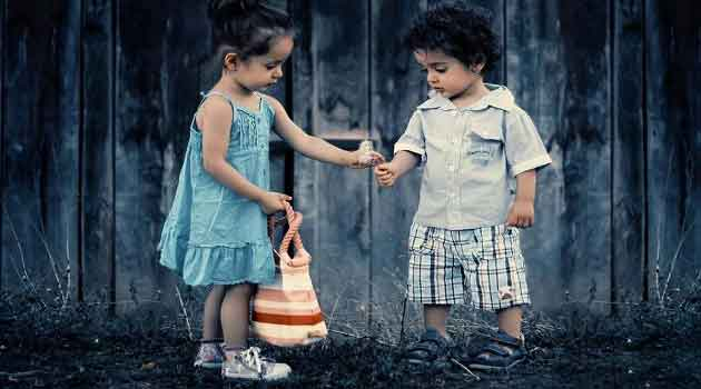 Happiness of sharing