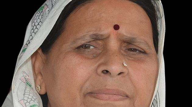 Rabri Devi says BJP wants to kill Lalu Prasad