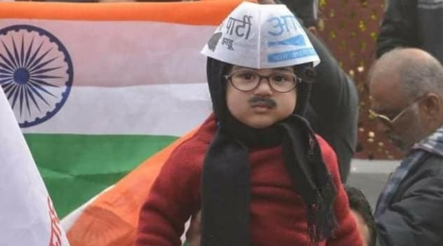 Arvind Kejriwal the mufler man of delhi elections 2020