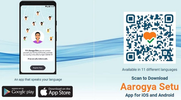 AarogyaSetu is a mobile application developed by the Government of India to connect essential health services with the people of India in our combined fight against COVID-19.