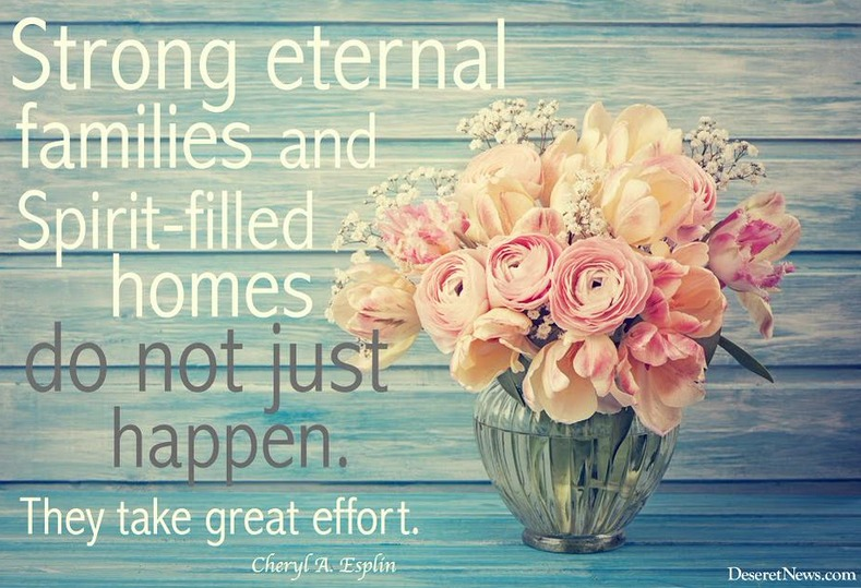 strong eternal families quote