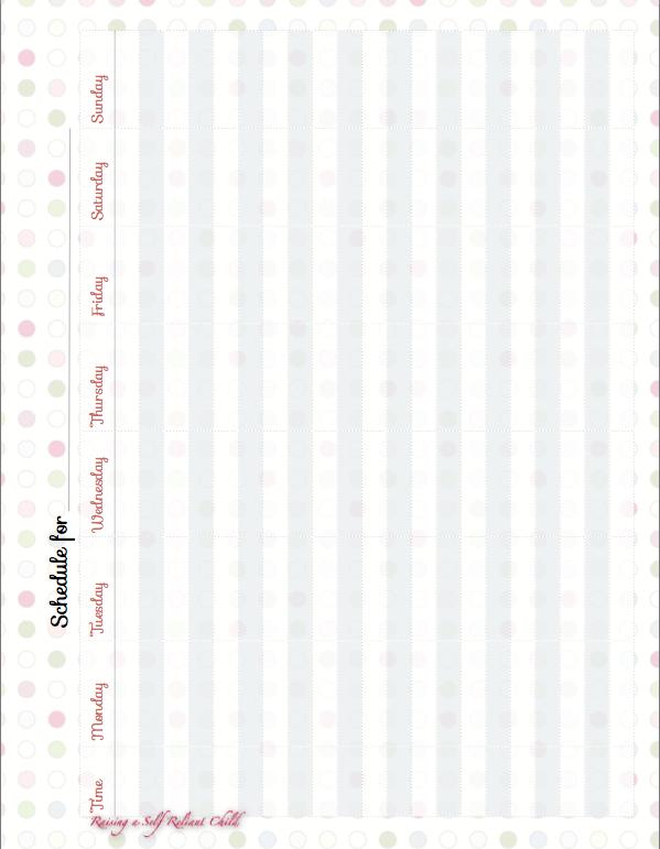 Homeschool Planner 2014-2015 PDF Download