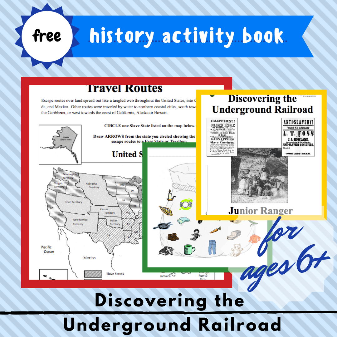 Discovering The Underground Railroad Free Activity Book