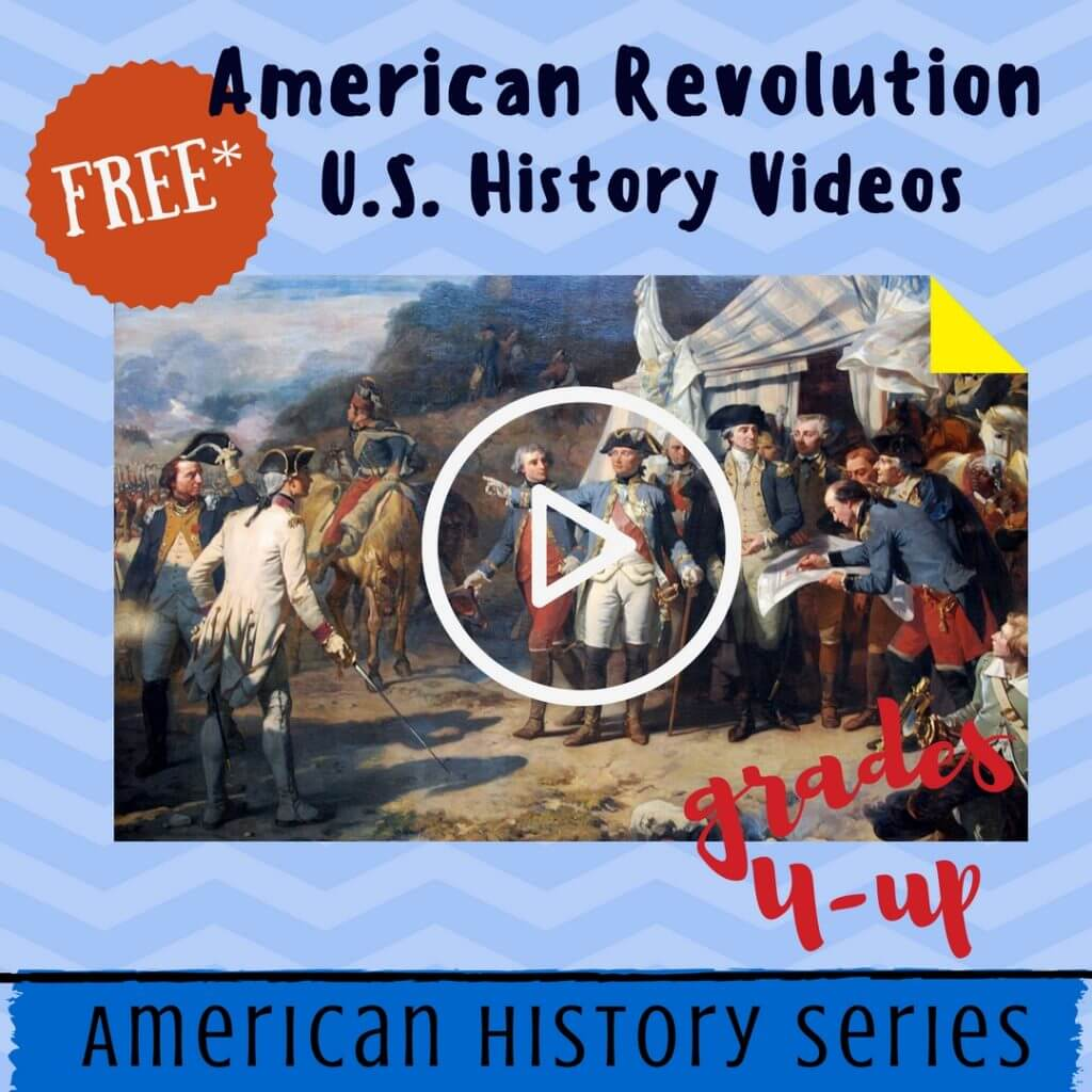 Free American Revolutionary War Videos Lessons Homeschool