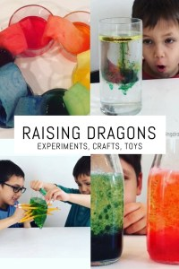 Raising Dragons Education Website, STEM, STEAM