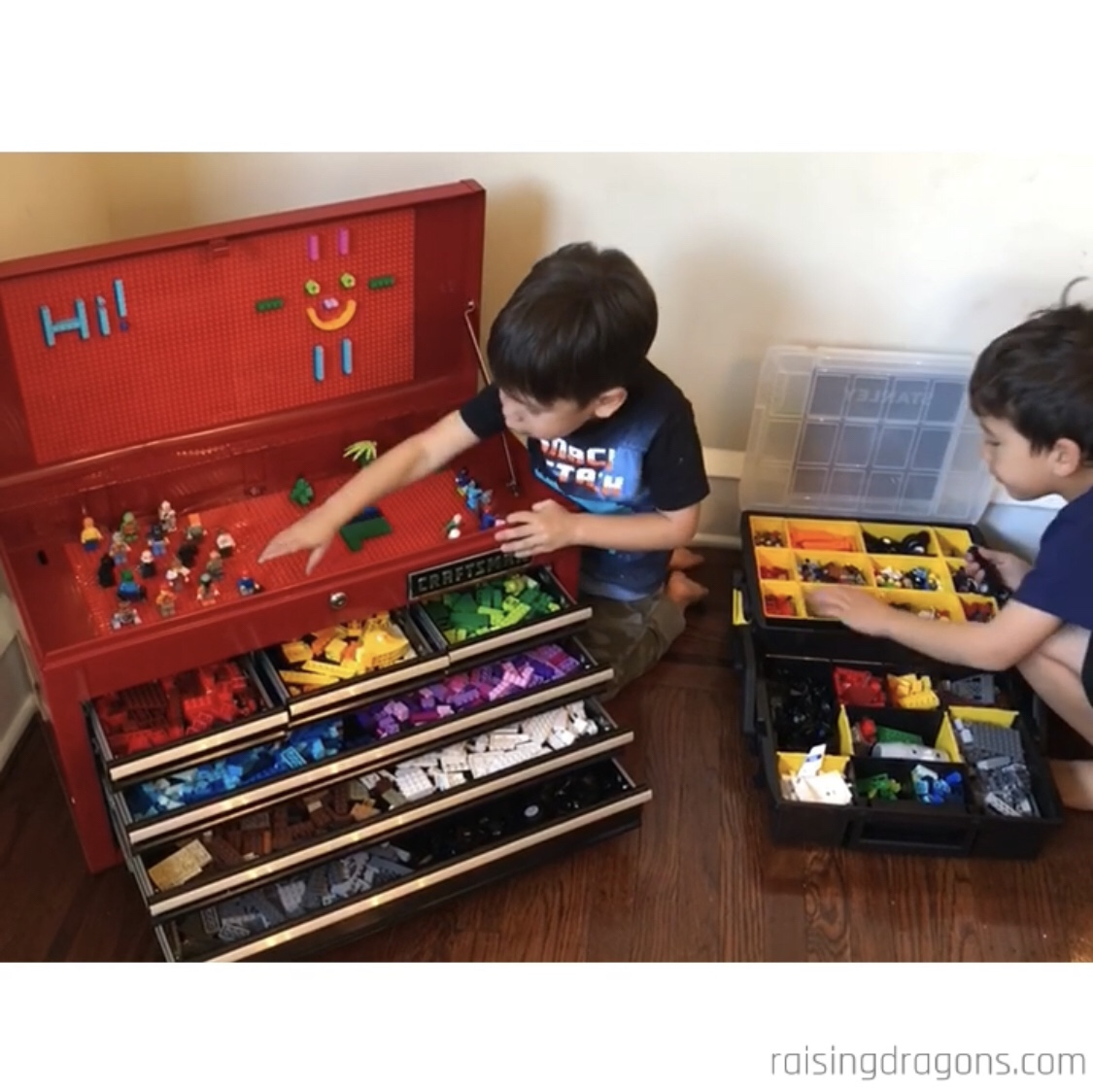 Awesome Diy Lego Storage Containers ⋆ Raising Dragons
