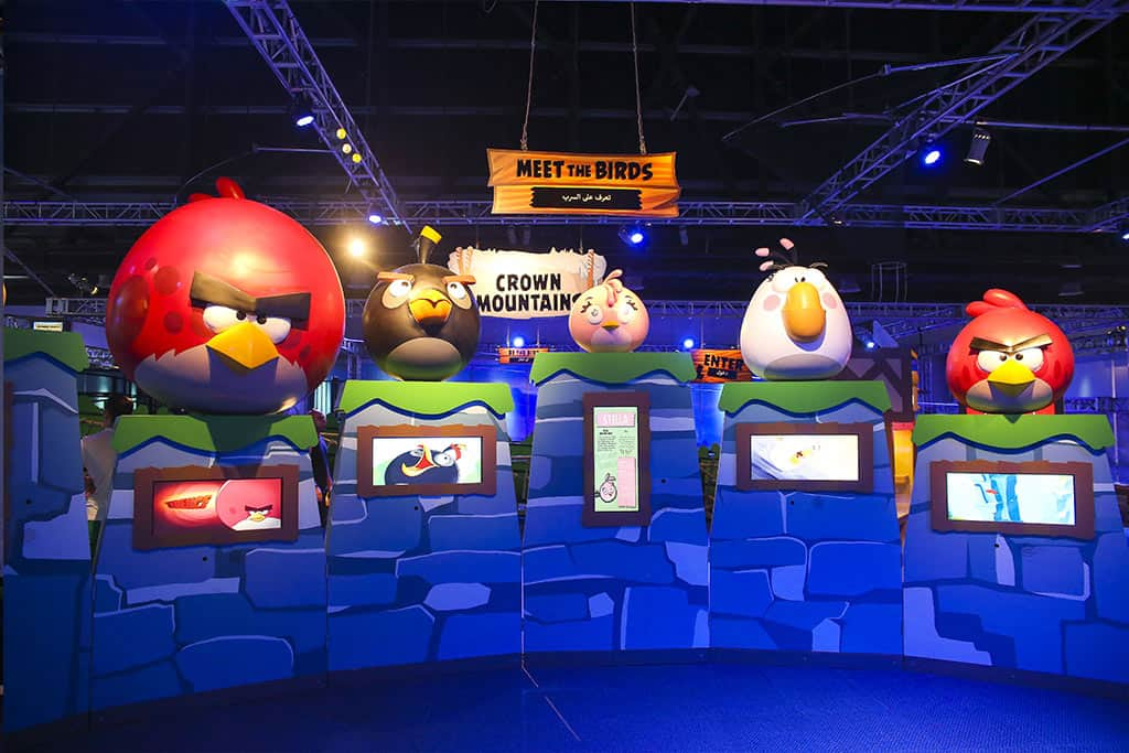 Angry Birds Universe At Telus World Of Science Opens 108