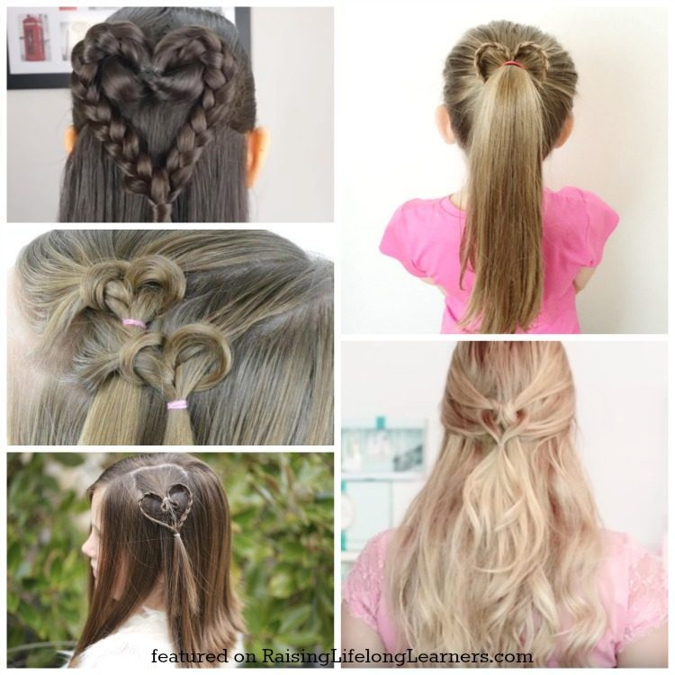 50 Adorable Valentine's Day Hairstyles For Girls Easy Hairstyles