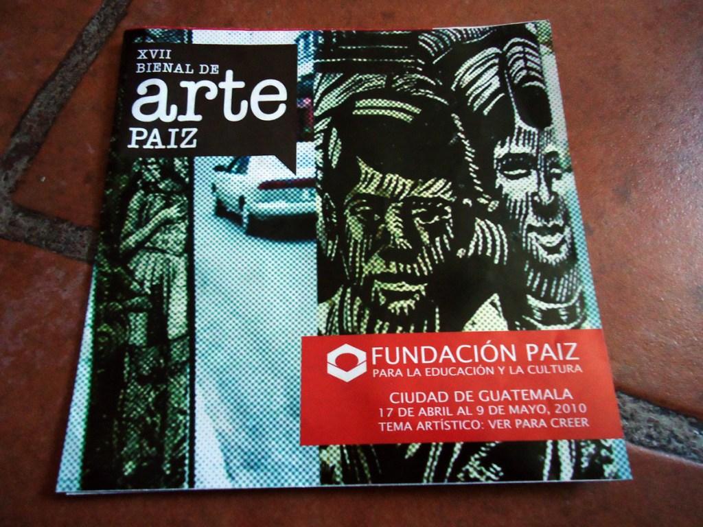 Art Bienal brochure