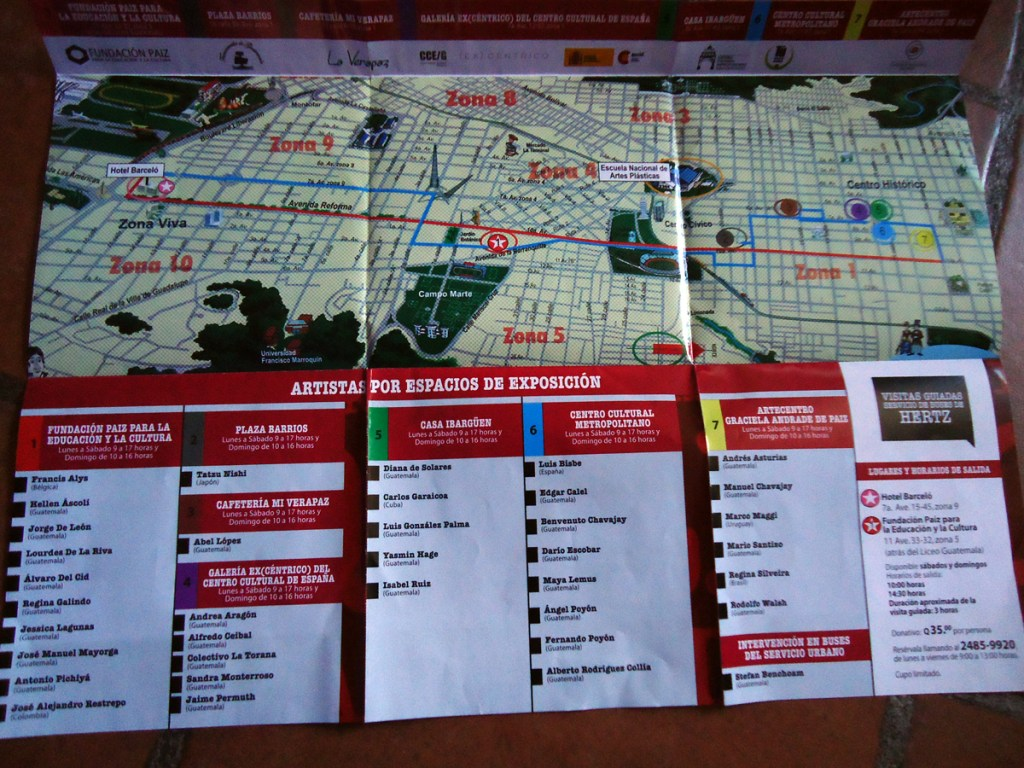 Art Bienal map