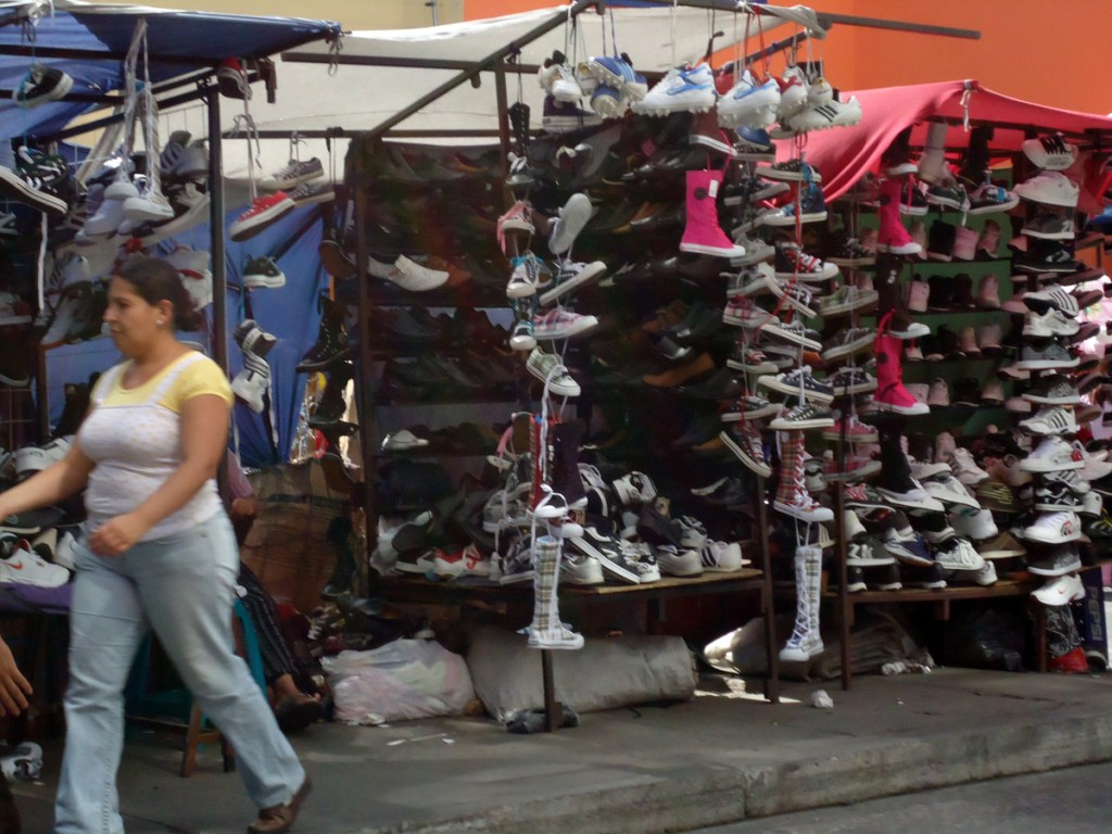 More street capitalism, shoes anyone?