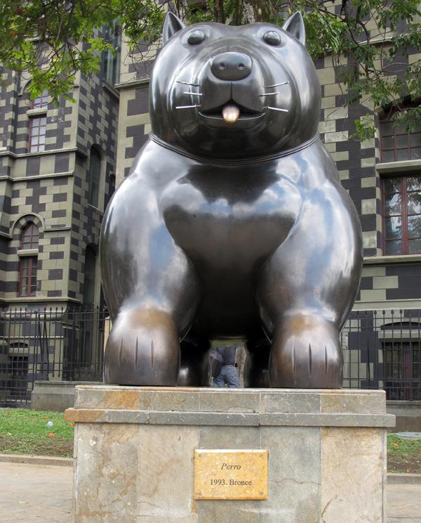 Botero Sculpture, Medellin