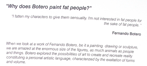 Why do I paint fat people?