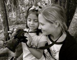 Alisha and Daana in Ecuador