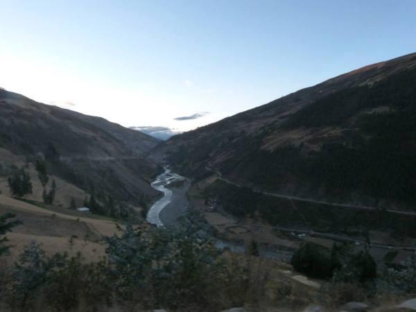 the Valley before Paucartambo