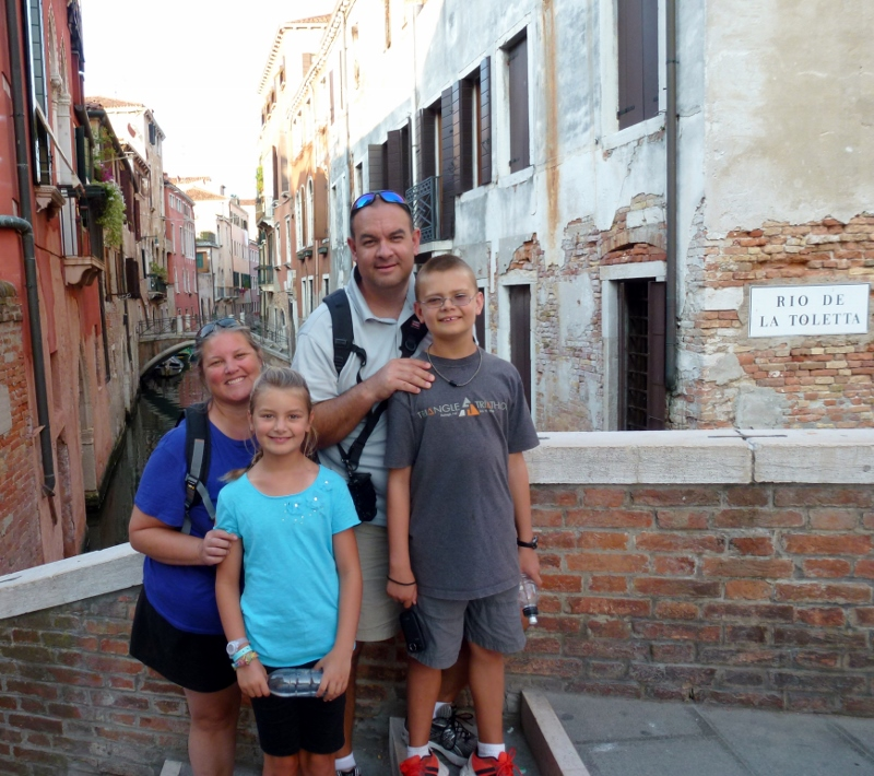 Wagoners Abroad Venice Italy
