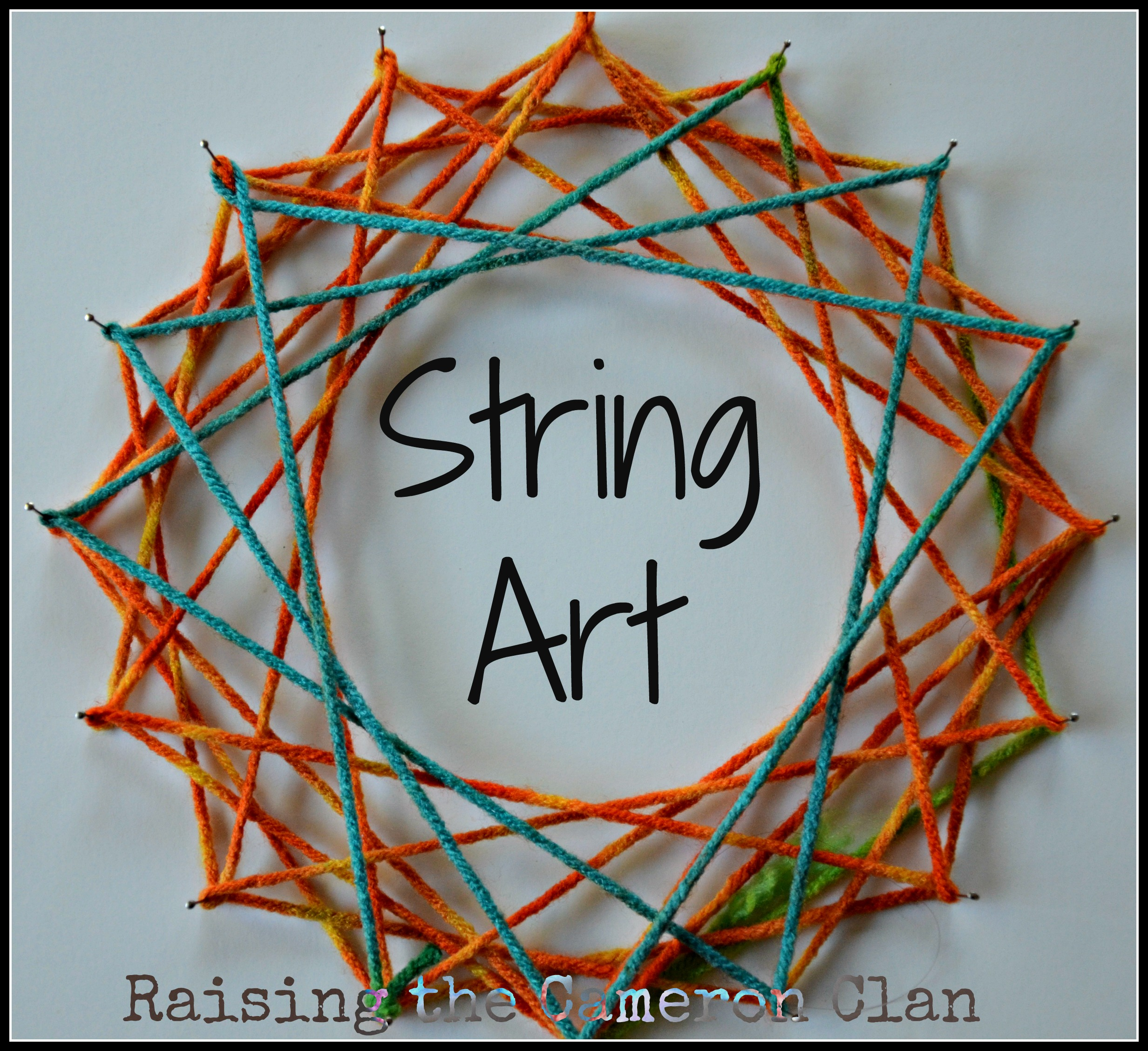 String Art – Homeschool