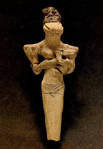 Another Mother and Child Ubaid figurine