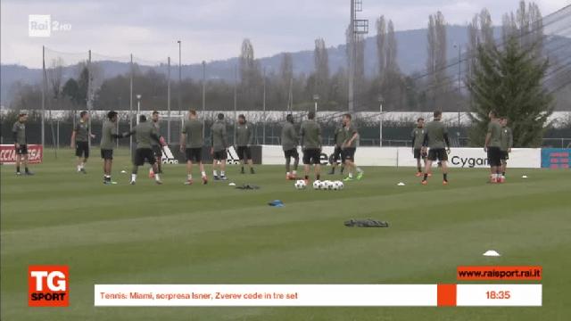 La vigilia in casa Juve  VIDEO  Calcio  RaiSport
