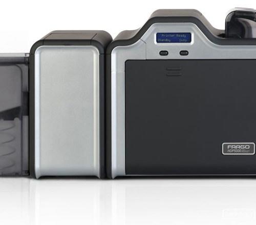 Fargo HDP5000 Dual-Side + Magnetic Stripe Encoder, Contact Encoder, Contactless Encoder