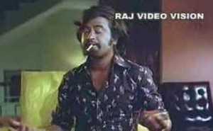 Rajini Throwing Cigarette