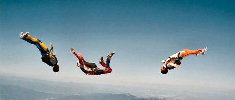 Skydiving scene in Zindagi Na Milegi Dobara