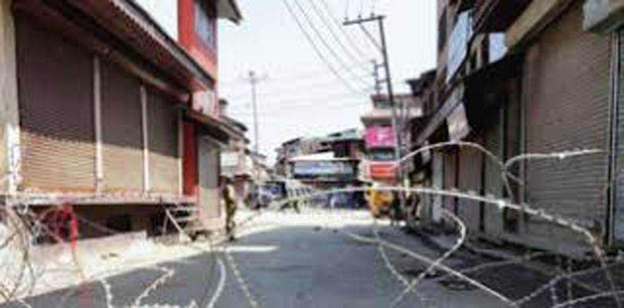 The danger of corona increased, now curfew in Jalore