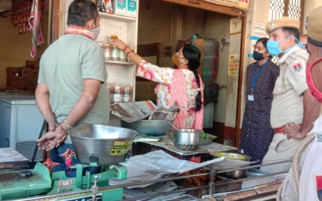 Adulterated mawa being sold in Jalore, carelessness may be heavy
