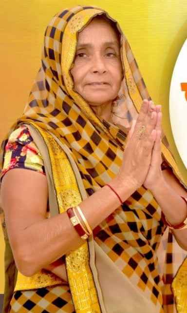 BJP's Veeri Devi became a favorite of women in Sayla, reached campaign