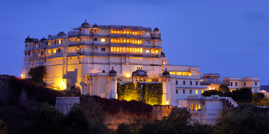 Devigarh Palace in Udaipur