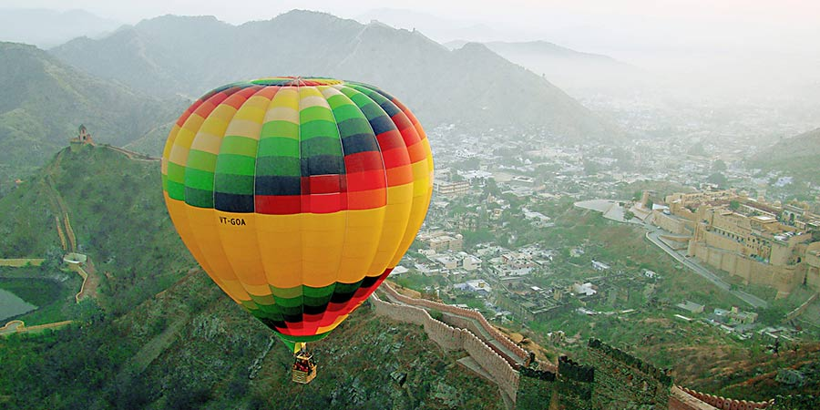 Hot Air Balloon Ride in Rajasthan