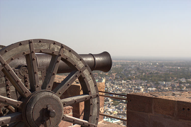 Cannon in Mehrangarh Fort