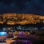 Mehrangarh Fort at Night