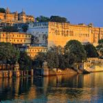 Lake Pichola and the City Palace in Udaipur