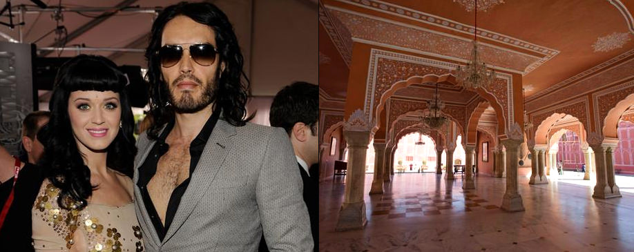 Katy Perry and Russell Brand Wedding in Rajasthan