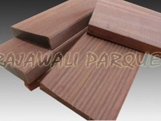 decking kayu besi harga