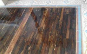 conto pemasangan lantai kayu sonokeling