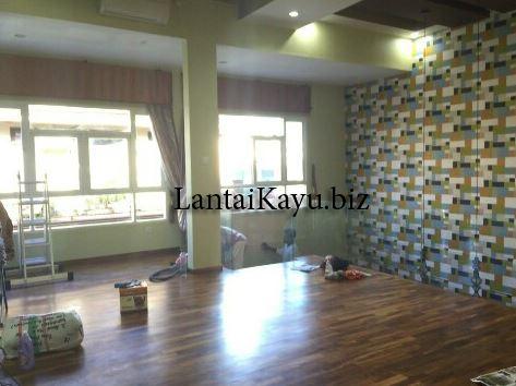 pemasangan lantai kayu parket balikpapan 2