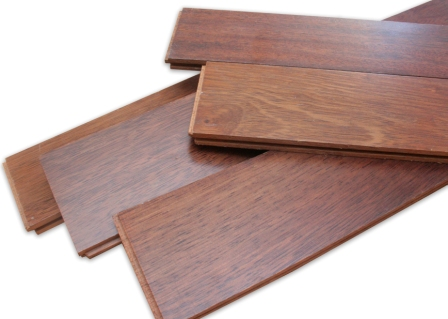 flooring kayu Merbau coating