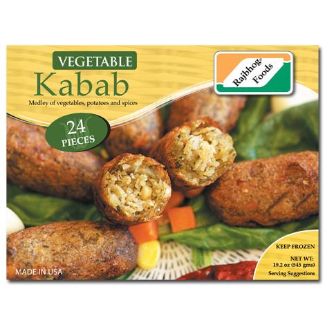 Vegetable Kabab