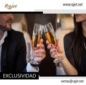 Vuela con #Rajet y disfruta de la exclusividad de nuestros vuelos privados