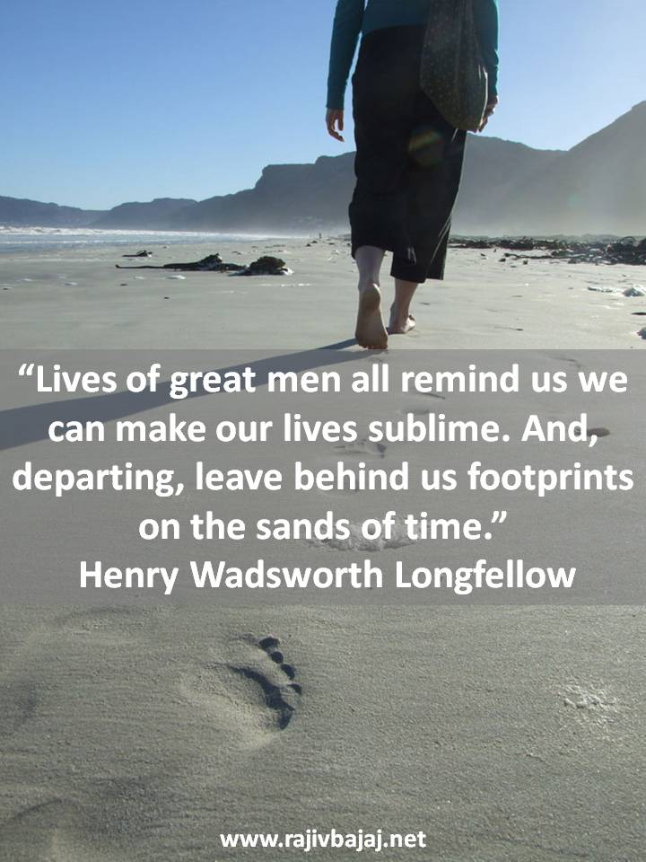 Fotprints In Sand