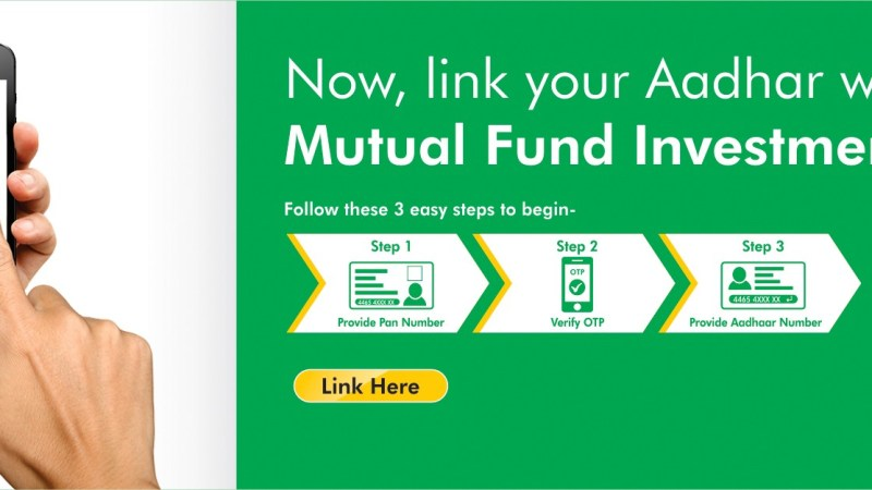 How To Link Aadhaar Number To Mutual Fund Accounts ?