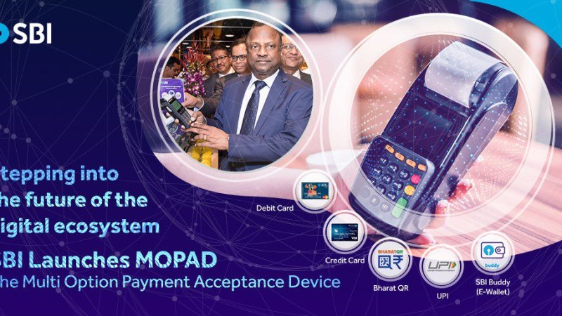 How To Pay Using SBI's 'MOPAD' PoS Terminal ?