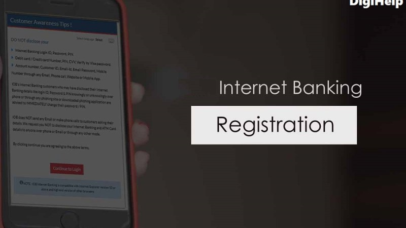Internet Banking authorisation letter – How to collect from Banks ?